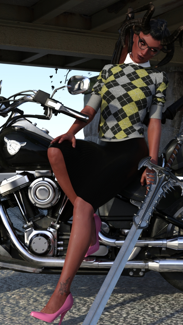 Maraial Motorcycle